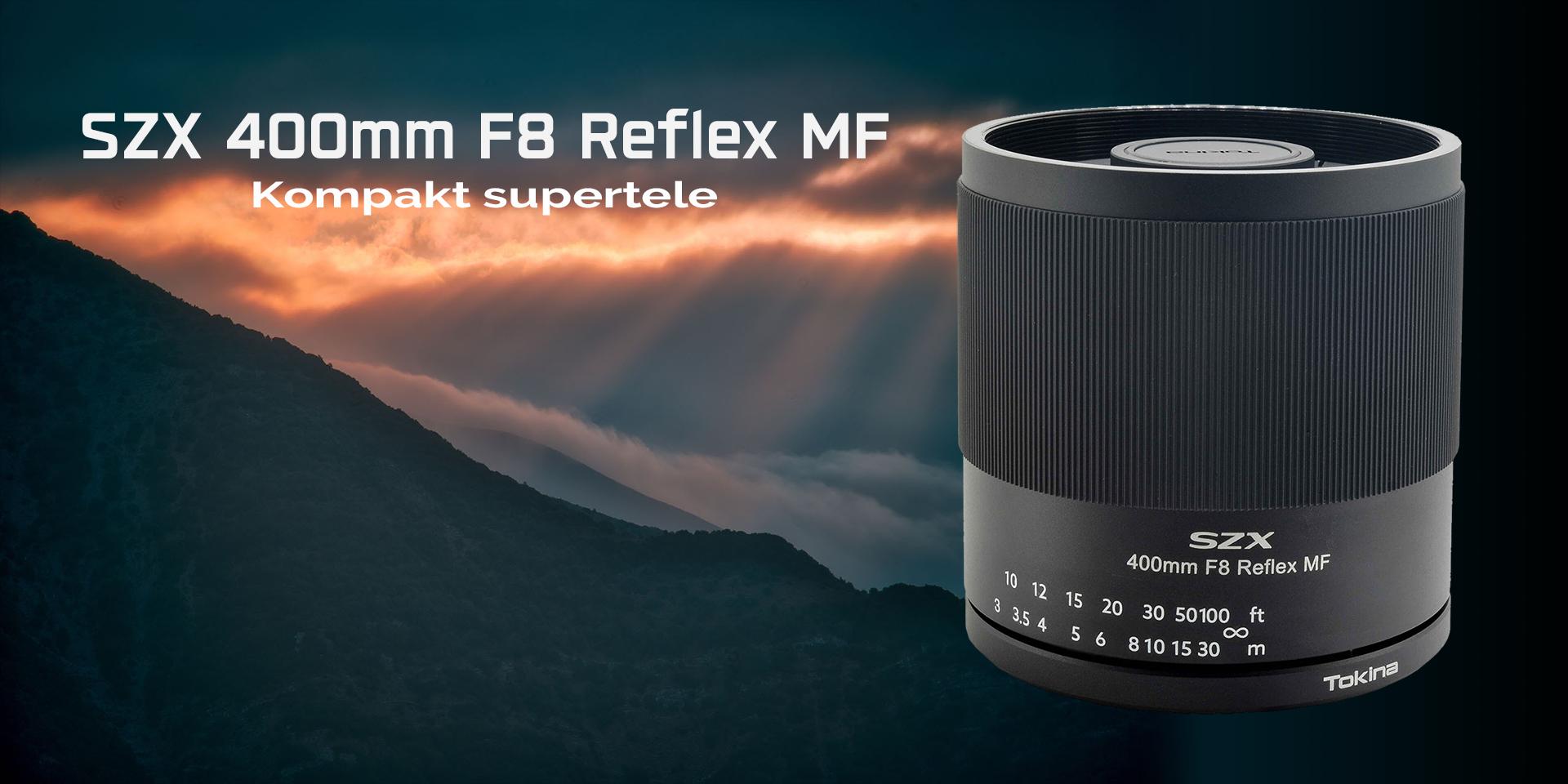 Permalänk till:Tokina SZX 400mm f/8 Reflex MF